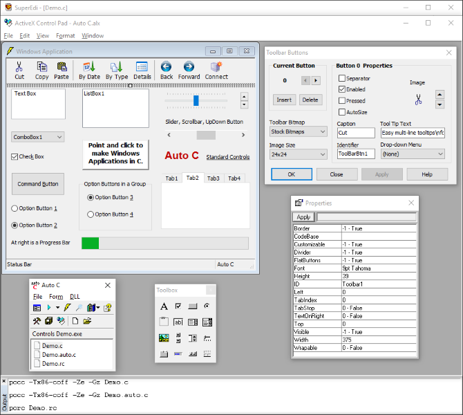 Click to view Auto C 3.7.70 screenshot